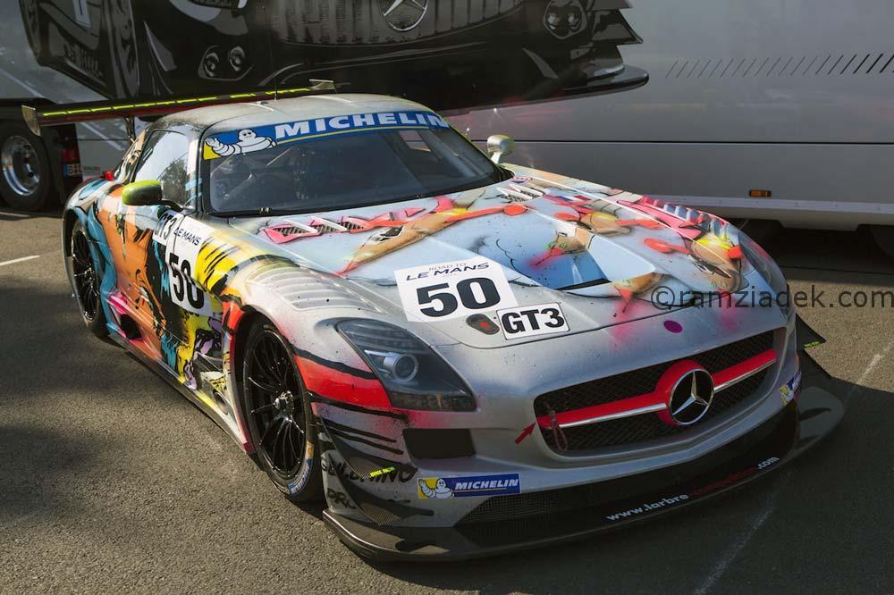GT3 mercedes 24h du Mans
