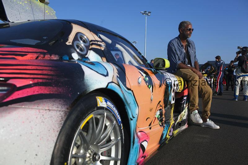 mercedes AMG pop art