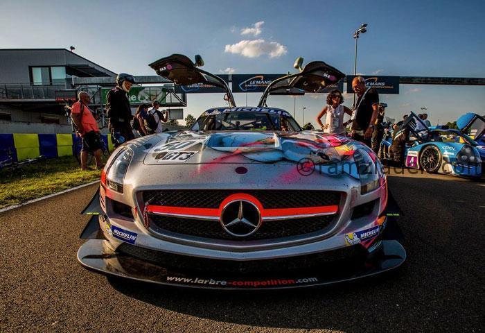 Mercedes AMG 24h du Mans