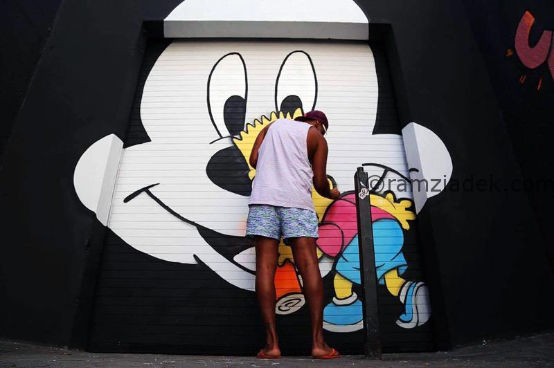Paint miami Bart simpson