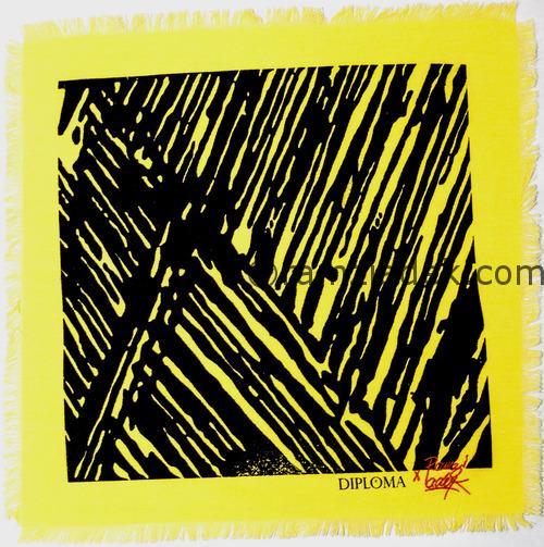 mouchoir jaune diploma ramzi adek