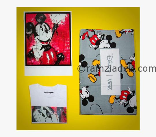 disney vans shoes t-shirt