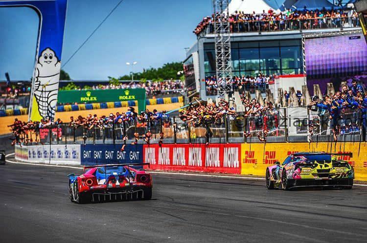 Le Mans Corvette