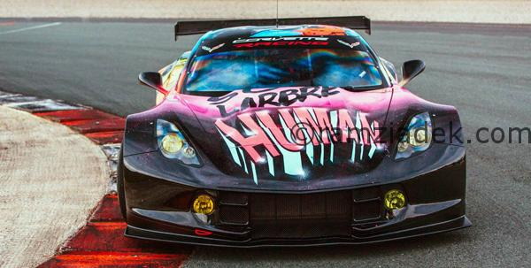 Corvette ramziadek pop art car