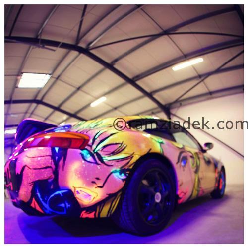 pop art Porsche rs 911
