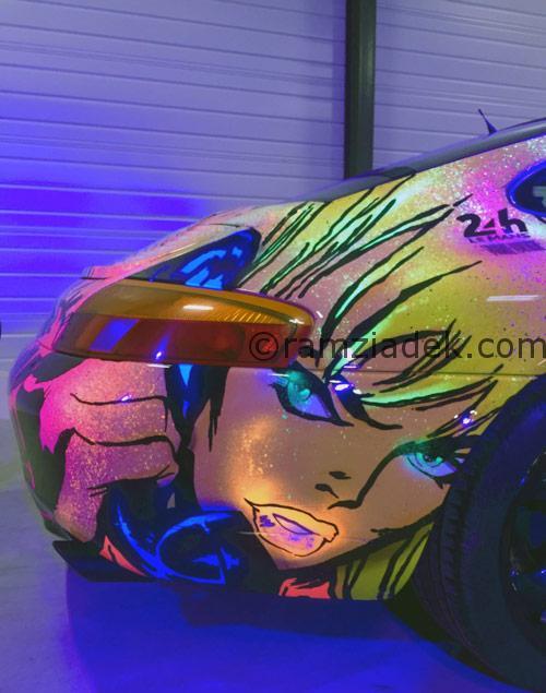 porsche 911 car pop art